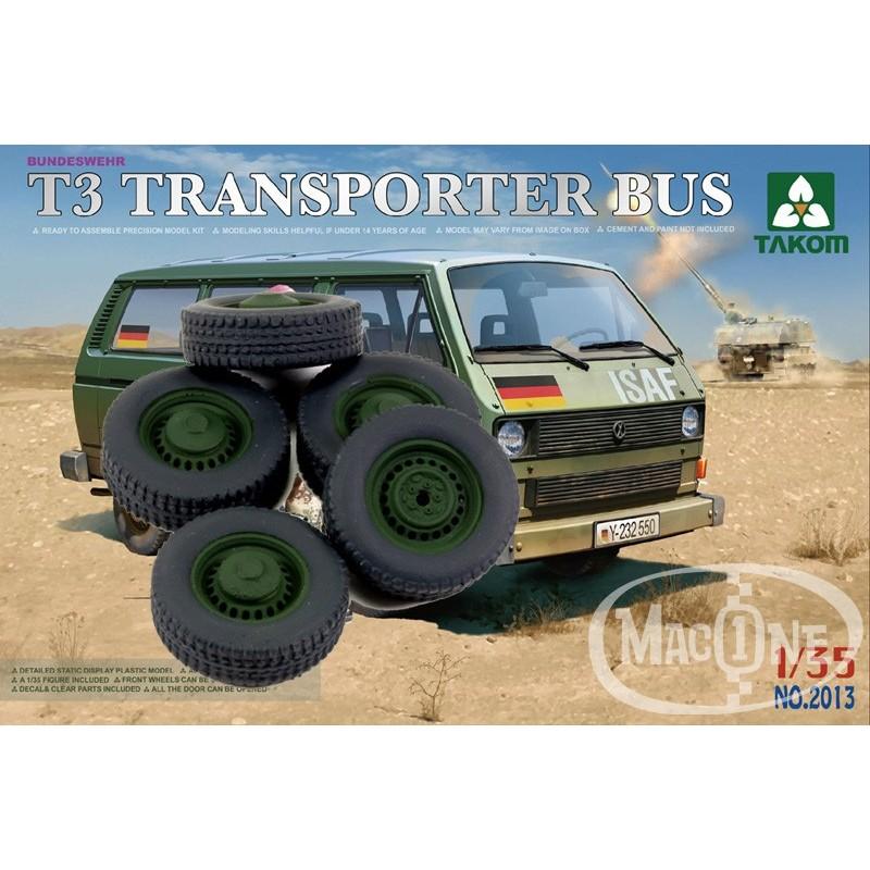 Ruedas en resina para TAKOM T3 Transporter