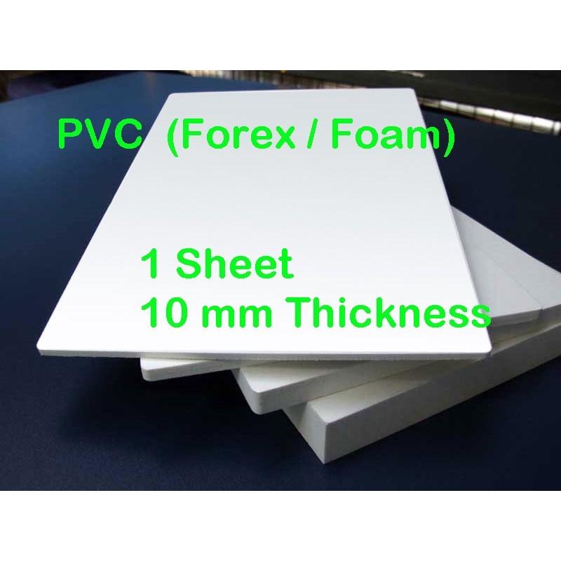 Pvc Foamed Forex 10mm 1 Sheet
