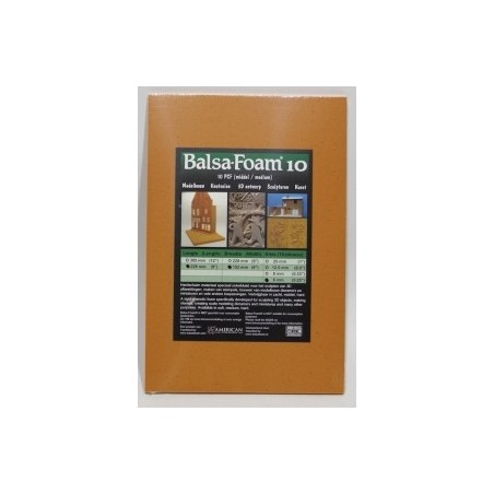 Balsa Foam 10 Pcf   Size A4  Thickness  6mm
