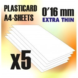 PLASTICARD ABS  0.16 mm  5...