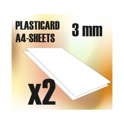 PLASTICARD ABS  3 mm  2...