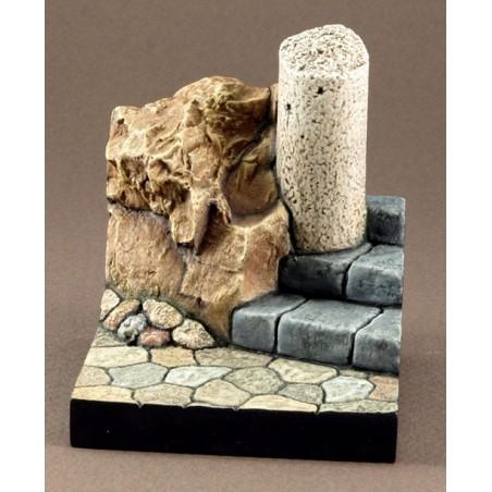 Columna y rocas