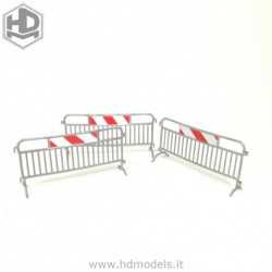 Metal barrier (3 pc)