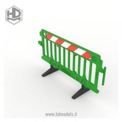 Barrera de plástico (1 ud.)
