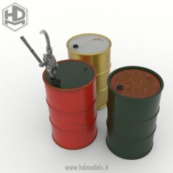 Barriles metálicos de...